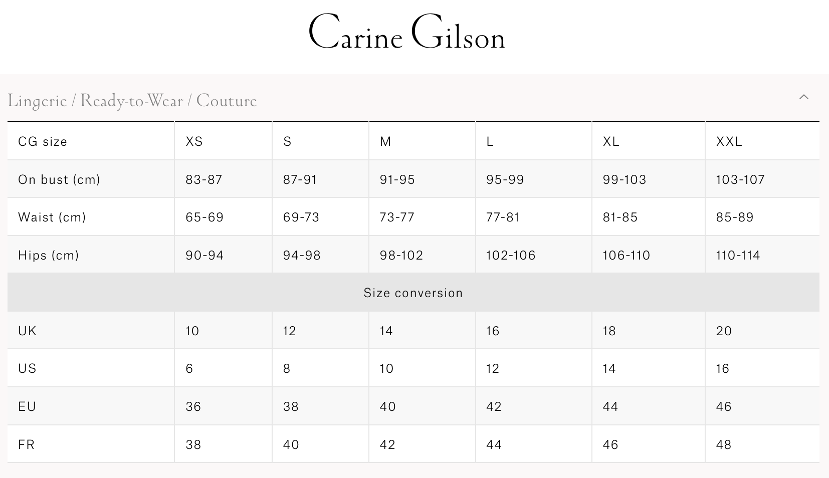 Carine Gilson  吊带睡裙&睡衣