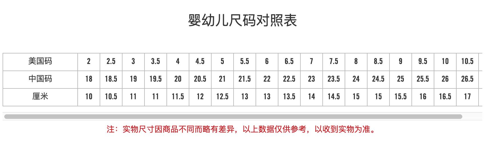 CONVERSE 匡威1-4岁婴童运动鞋